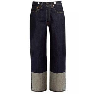 Rag & Bone Trompe L'Oeil Cuff Grommet Jeans